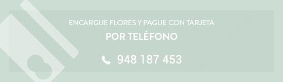 encargue flores por telefono