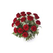 18 Rosas rojas