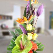 Diseño original con flor especial