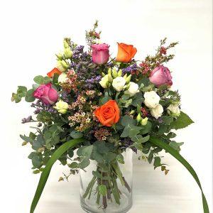 Ramo de Rosas Multicolor Campestre